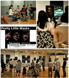 Pretty Little Masks show with Lelele Tres | Yokohama, Japan