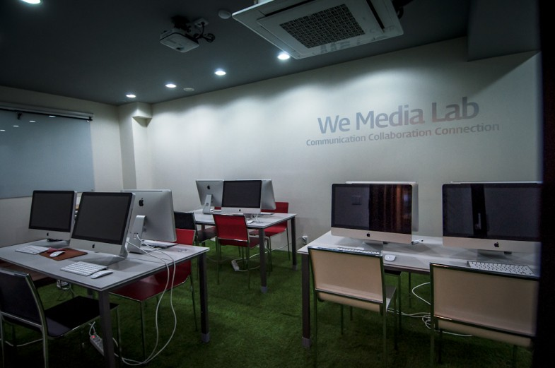 The Mac Lab / multimedia lecture room
