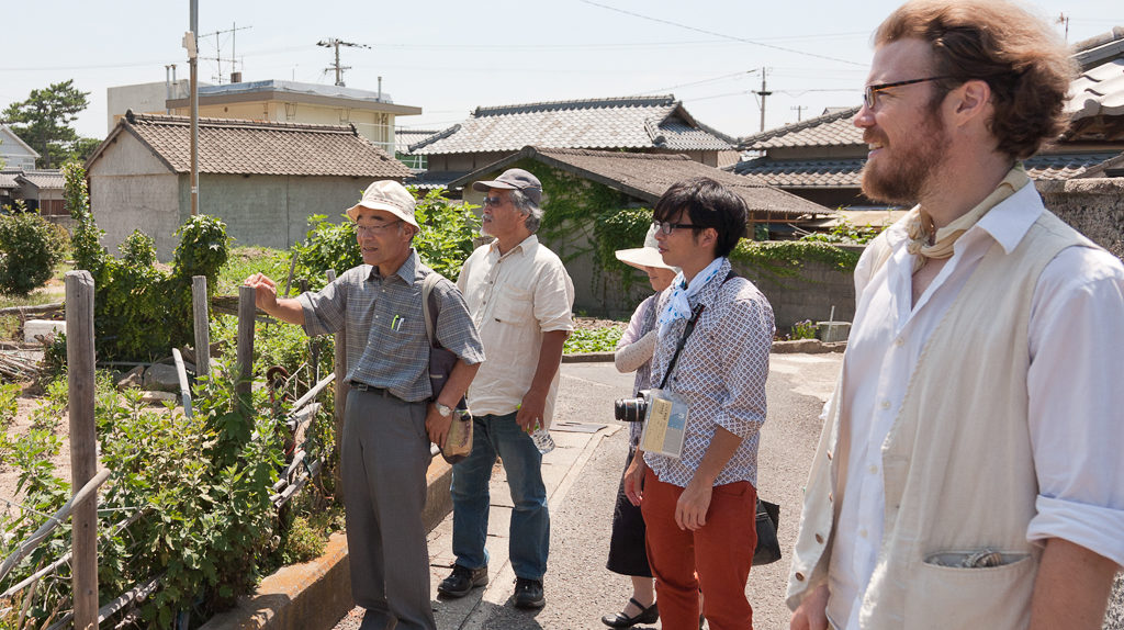 Farm tour of Megijima with regional natural farmers.