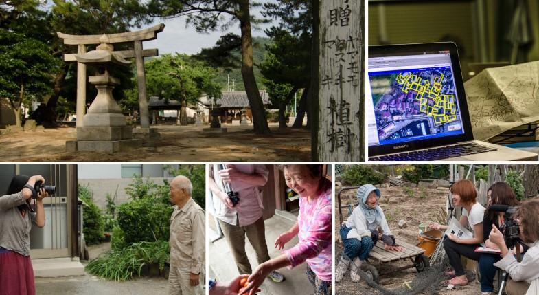 Photos from the production of HUMAN:NATURE on Megijima