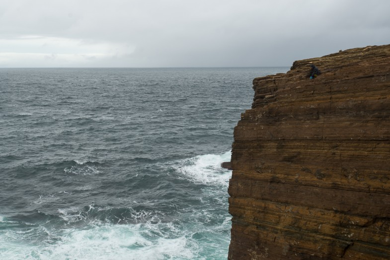 Cliffs at Yesnaby, Orkney