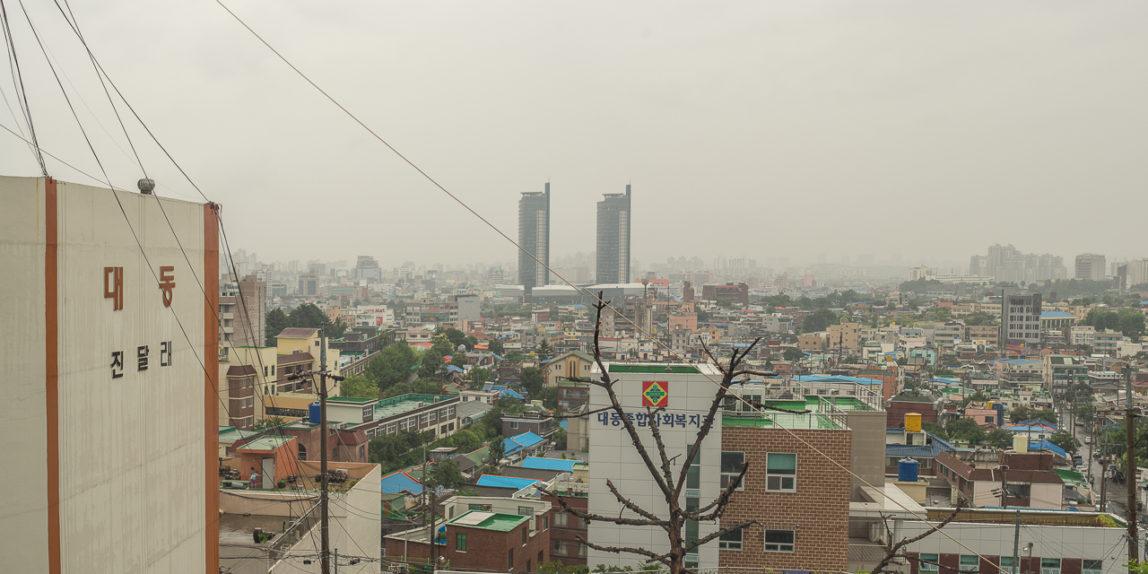 Woman, Child, City   Daejeon, South Korea (CC BY-SA, P.M. Lydon)