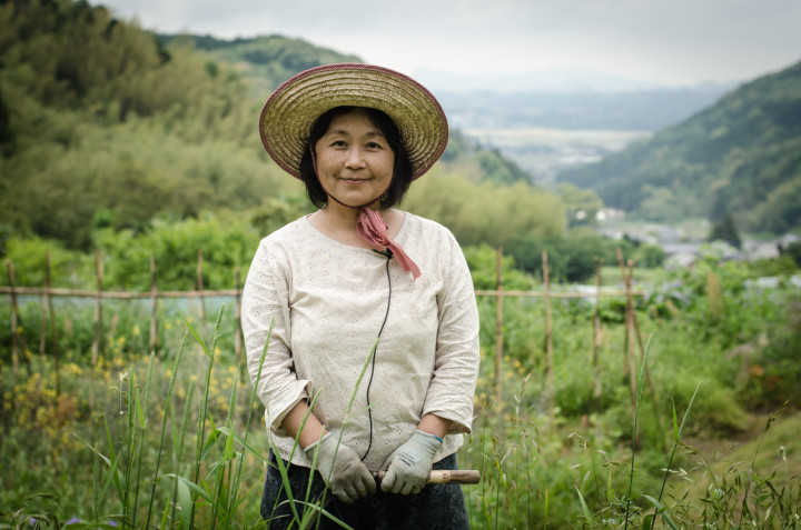 Etsko Kagamiyama at her natural farm | Fukuoka, Japan