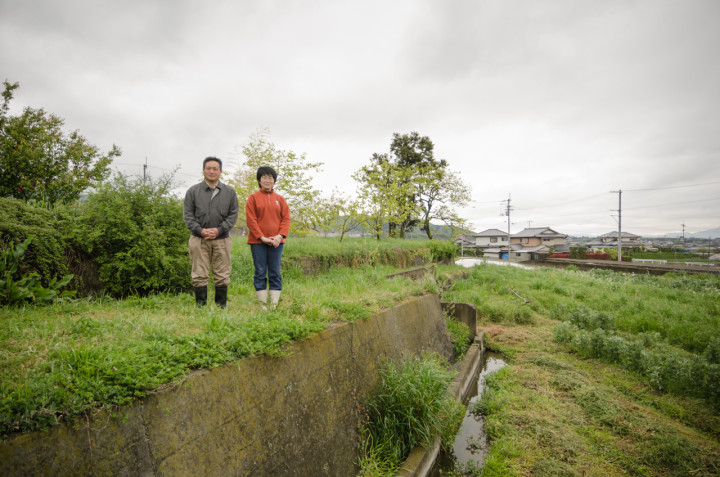 Kita san and his wife at their natural farm | Tokushima, Japan