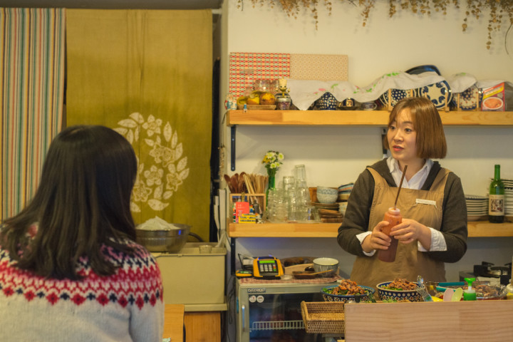 GaYoung's 'Goldfish' restaurant in Seoul