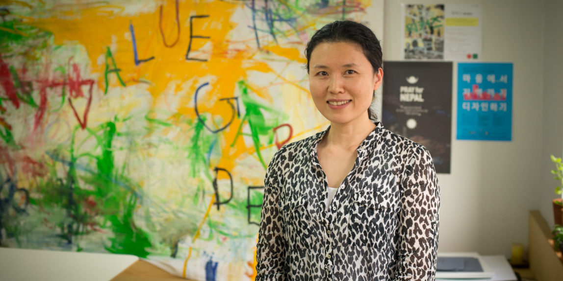 Eunhee Shin, Director of Value Garden in Seoul, South Korea