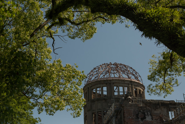 The Atomic Bomb Dome in Hiroshima, Japan (Image: P.M. Lydon)