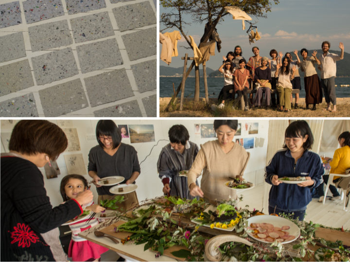 Workshops and events during our REALtimeFOOD project in Megijima, Japan
